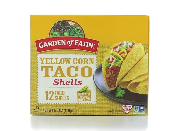 Garden of Eatin Organic Yellow Corn Taco Shells