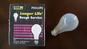 philips 100watt service light bulbs