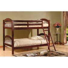 Bunk Beds At Walmart by K U0026amp B Furniture Arched Twin Over Twin Bunk Bed Walmart Com