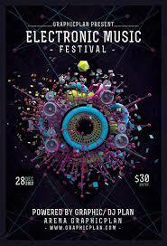 Music Festival Flyer Design 40 Inspiring Poster Designs Modern Posters Jayce O Yesta
