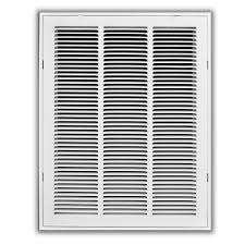 Decorative Return Air Grille Canada by Truaire 14 In X 30 In White Return Air Filter Grille H190 14x30