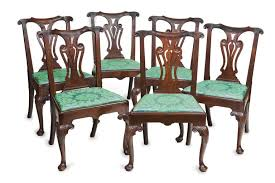 Georgian Dining Room by Set Of Six Irish 18th Century Georgian Dining Chairs For Sale At