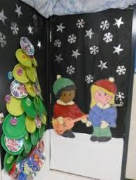 Kindergarten Winter Door Decorations by Andrea Carrasco Teachimmersion On Pinterest
