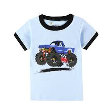 100 Monster Truck Pajamas Detail Feedback Questions About Boys Short Sleeve Suv Cars Pajamas