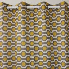 Geometric Pattern Window Curtains by Aliexpress Com Buy Vezo Home Hexagon Geometric Linen Window