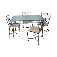 Meadowcraft Patio Furniture Dealers by Vintage Meadowcraft Metal Patio Set Chairish