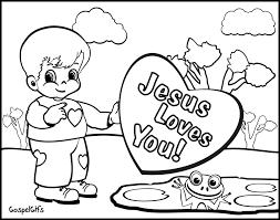 Neoteric Design Jesus Loves You Coloring Page DIY Kraft Paper Noel Christmas Card