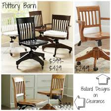 Decor Look Alikes: Pottery Barn Swivel Office Chairs $399-$429 Vs ... Best Pottery Barn Wooden Kitchen Table Aaron Wood Seat Chair Vintage Ding Room Design With Extending Igfusaorg Chairs Interior How To Select Chair For Bad Backs Bazar De Coco Classic Rectangular Traditional Large Benchwright Round Glass Set2 Inch Fniture And Metal Bar Stools