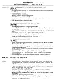 Download Acute Dialysis Registered Nurse Resume Sample As Image File