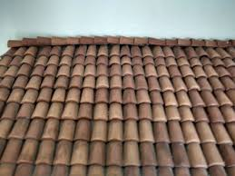 miniature clay roof tiles tiles scale 1 12 9 steps