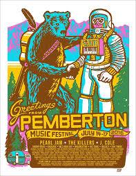 Pemberton Music Festival 2016 Poster