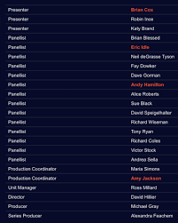 Here Are The Participants And Those In Charge