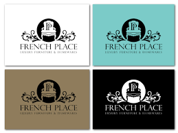 Logo Design By Milicka For French Provincial Furniture Online Store