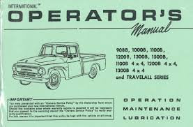 Owners Operating Manual • Old International Truck Parts Parts Online Intertional Truck Catalog Ihc Hoods Old Best Resource 1966 1967 1968 Dealer Book Mt112 1929 Harvester Mt12d Sixspeed Special Trucks Beautiful Used Grill For Manual Bbc 591960 Diagram Ihc Wiring Diagrams Fuse Panel Electrical Box I Engine Part Chevrolet Expensive Car 1953 Ac Circuit Cnection
