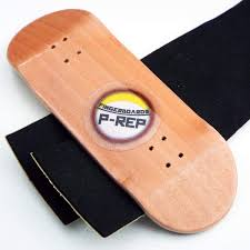 Peoples Republic Cherry Complete Wooden Fingerboard W Nuts Trucks ...