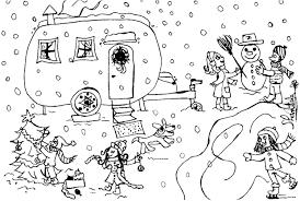 Skieur à Colorier Centerblog