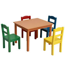 Kids Table And 4 Chairs Set Play Desk Wooden Toddler Furniture ... Amazoncom Angeles Toddler Table Chair Set Natural Industrial And For Toddlers Chairs Handmade Wooden Childrens From Piggl Dorel 3 Piece Kids Wood Walmart Canada Pine 5 Pcs Children Ding Playing Interior Fniture Folding Useful Tips Buying Cafe And With Adjustable Height Green Labe Activity Box Little Bird Child Toys Kid Stock Photo Image Of Cube Small Pony Crayola