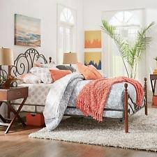 Value City Metal Headboards by Four Poster Bed Ebay