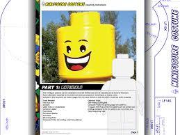 Professional Pumpkin Carving Tools Walmart by Tutorial Lego Head Minifigure Costume Diy Patterns U0026