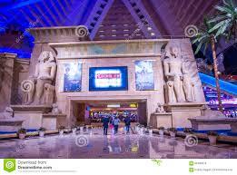 Luxor Casino Front Desk by Las Vegas Luxor Hotel Editorial Photo Image 65436676