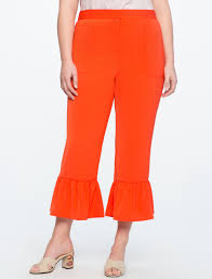 37 plus size cropped wide leg pants that u0027ll make your summer to