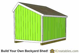 10x12 salt box shed plans saltbox storage shed icreatables com