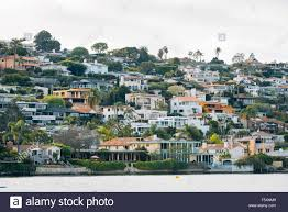 100 Point Loma Houses View Of Houses On The Hills Of La Playa In San Diego