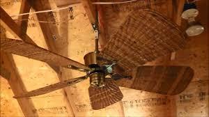 Ceiling Fan With Palm Leaf Blades by Fanimation Islander Ceiling Fan Model Fp320ab1 With 5 Wicker