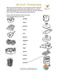 Groups Wheel Coloring Pages Holiday Food Pyramid Printable