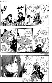 We See Gajeel And Levy Finally Joining Whats Left Of The Fight After Got To Them A Few Chapters Ago Get Usually Fairy Tail Humour As