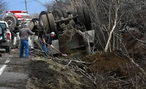 Manure Truck Rolls Over, Spills Some Contents In Cayuga County Town ... Tow Truck Rollover Traing Youtube Bengarry Mountain Truck Rollover Man Injured South Coast Register Driver Trailer 18000 Pounds Overweight In Nsw Police On Twitter Glenmorepark Httpstco Propane Leads To Evacuation Colchester Environmental Protection Authority Notified After Driver Says Sneezing Fit While Talking Siri Led Coal Injured Us 250 Colerain News 1 Killed Cement Broward Nbc 6 Florida Emergency Crews Respond Crash Lisbon Road