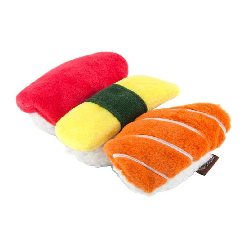 P.L.A.Y - International Classic Sushi Dog Toy