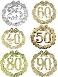 jubiläums zahl 24cmd 50 gold 1234
