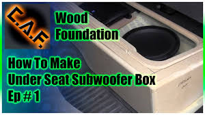 Under Seat Subwoofer Box Enclosure - Video 1 Wood Foundation - YouTube 623 Best Subwoofer Boxes And Enclosures Subwoofers Car Audio Sub Box Center Console Install Creating A Centerpiece Truckin Kicker Comps 12 Inch 4 Ohm 40cws124 Ebay 9906 Chevy Silverado Ext Cab Truck Rockford Punch P1s412 Dual 8 8inch Ported Enclosure Standard Gmc Sierra Cheap For Find Single Basic Inch Subwoofer Box For A Truck Sub Boxes Pinterest Stereo Sealed Speaker