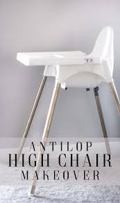 IKEA High Chair Makeover - Practical And Pretty