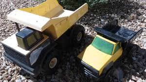TONKA DUMP TRUCKS (Old Vintage 1970s-90s, Metal) - YouTube