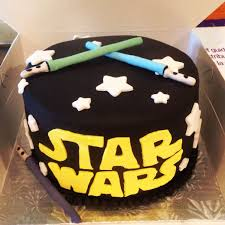 starwars cake torte kindergeburtstag einfacher nachtisch