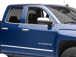 100 Chevy Truck Accessories 2014 Window Trim Chrome 1418 Silverado 1500