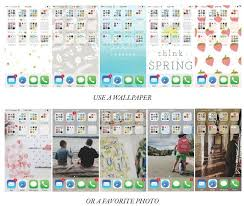 how to organize your iphone screen and make it look pretty