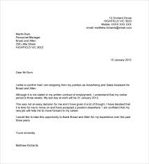 Sample Resignation Letter No Notice 7 Free Documents In PDF Word