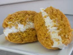 Pumpkin Whoopie Pies Gluten Free by Whoopie Pie Little Bitty Bakes