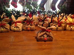 Reindeer Soap Gifts Given To A Local Nursing Home More Elderly CraftsSenior