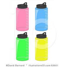 Royalty Free Water Bottle Clip Art
