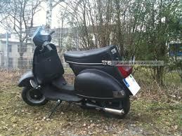 Vespa Scooter Black ScootersVespa Modif