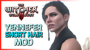 Witcher 3 Yennefer with Short Hair Mod