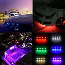 100 Led Lights For Trucks Interior RGB LED Rock Neon Kits Bluetooth Control Cell Phone Control