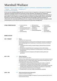 Waitress Sample Resume Waiter Cv Examples And Template
