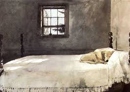 Andrew Wyeth Master Bedroom 1965 museum