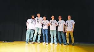 bureau valley six compete for title of mr bureau valley high