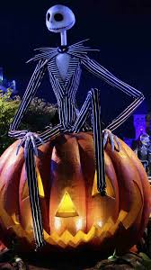 Nightmare Before Christmas Halloween Yard Decorations by Pumpkin Light Jack Skellington Iphone 6 Plus Wallpaper 2014